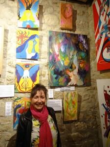Marie-Louise Crevantes et ses peintures