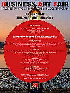 PROGRAMME BUSINESS ART FAIR 2017